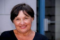 mature portait woman Στοκ Φωτογραφία