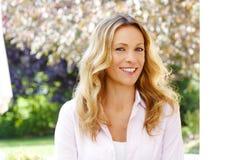mature portrait woman Στοκ Εικόνα