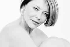 mature portrait woman Στοκ Φωτογραφία