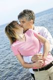 Mature romantic couple Stock Image