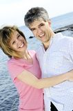 Mature romantic couple Royalty Free Stock Images