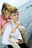 Mature romantic couple Royalty Free Stock Photography