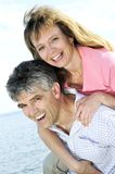 Mature romantic couple Royalty Free Stock Image