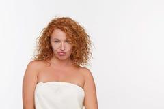 mature sad woman Στοκ Εικόνες