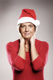 Mature Santa Royalty Free Stock Photography