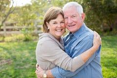 Mature senior couple Stock Photos