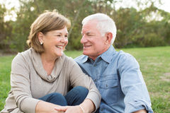 Mature senior couple royalty free stock image