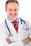 Mature serious doctor Stock Photography