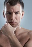 Mature, serious man Stock Image