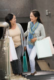Mature shoppers Stock Images