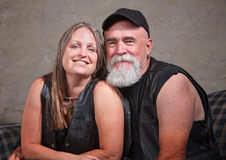 Mature Smiling Couple Royalty Free Stock Photo