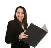 Mature successful businesswoman Stock Images