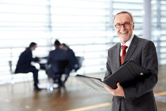 Mature team leader Stock Photography