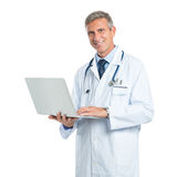 Mature Tech Doctor Stock Image