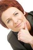 Mature woman Royalty Free Stock Photography
