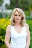 Mature woman Royalty Free Stock Photo