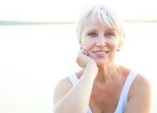 Mature woman Stock Image