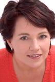 Mature woman stock image