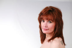 A Mature Woman Royalty Free Stock Photo