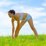 Mature Woman Athlete Royalty Free Stock Photos