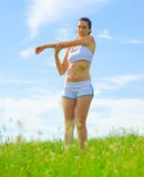 Mature Woman Athlete Stock Photography