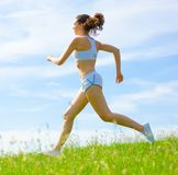 Mature Woman Athlete Royalty Free Stock Photography