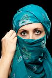 Mature woman in Burqa Royalty Free Stock Photography