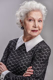 Mature woman enjoying life Royalty Free Stock Photo