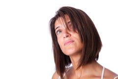 Mature woman look Stock Photography