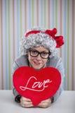 Mature woman love Stock Photography