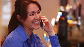 Mature Woman on the Phone
