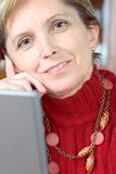 Mature woman - portrait Royalty Free Stock Photography