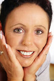 Mature woman portrait royalty free stock image