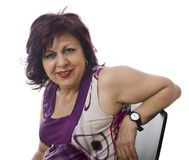 Mature woman portrait Royalty Free Stock Photography