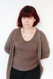 Mature Woman Portrait Stock Image
