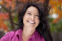 Mature Women Cheerful Stock Images