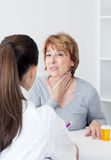 Sore throat Stock Images