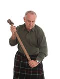 Mature working scotsman Royalty Free Stock Photos