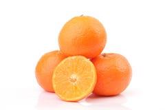 Maturo dal mandarino immagine stock