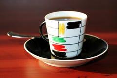 Matutinal Kaffee Stockfotografie