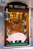 Matvaruaffär Shoppa De Miccoli Siena Royaltyfri Bild