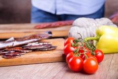 Matvaruaffärordning Fotografering för Bildbyråer