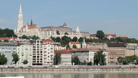 Matyas church and fisherman bastion Stock Images