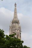 Matyas Church Tower royalty free stock photos