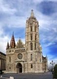 Matyas kościół w rybaka bastionie, Budapest Fotografia Royalty Free