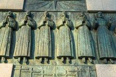 26 Matyrs Denkmal stockfotos