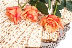 Matza для торжества еврейской пасхи Стоковое Изображение RF