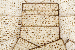 Matza  for passover celebration Royalty Free Stock Photography