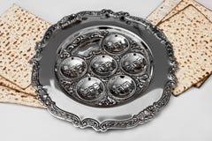 Matza  for passover celebration. Matza bread for passover celebration Royalty Free Stock Image