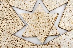 Matza  for passover celebration. Matza bread for passover celebration Royalty Free Stock Photo